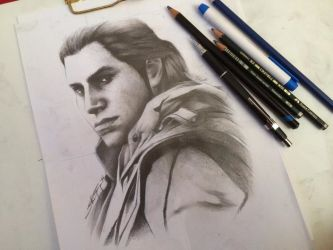 Connor Kenway from AC III by Rosekie