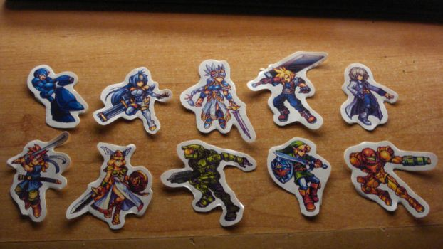 Card Sagas Wars Stamps! by Animally