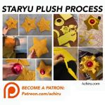 Staryu Plush Process by Achiru-et-al