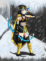 League of Legends-Ashe by Alulle