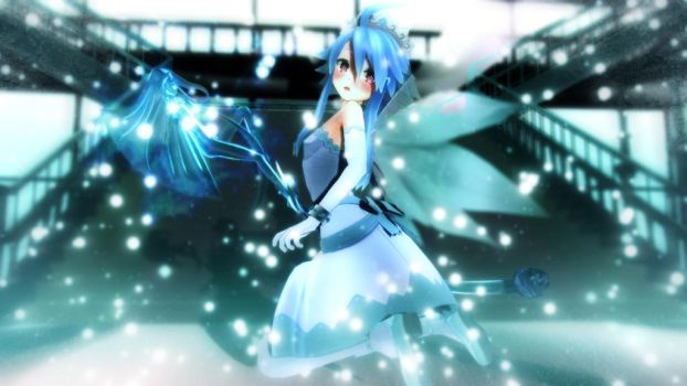 CM3D2: White Heart - Ice Fairy 01 by excahm