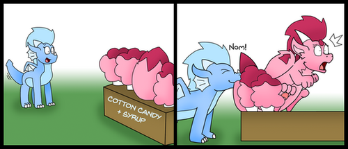 Cotton Candy by ChocEnd