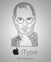 Apple typography by richworks