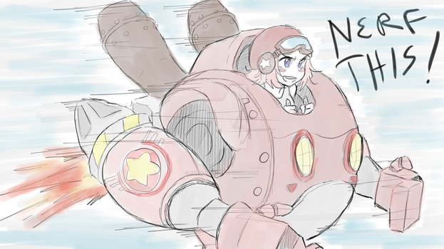 Robobot Kirby! by kirby-master2017