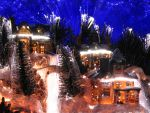 Christmas Village by AreteEirene