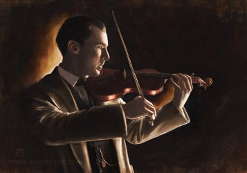 The Violinist by RileyStark