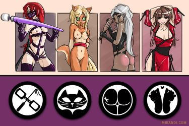 Fap Ninja's Kinky Ninja Clan Game art by adamsj888