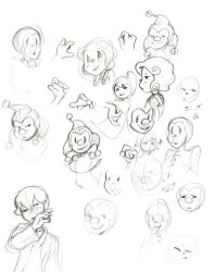 Some Expression Practice by Captian-Cardshark