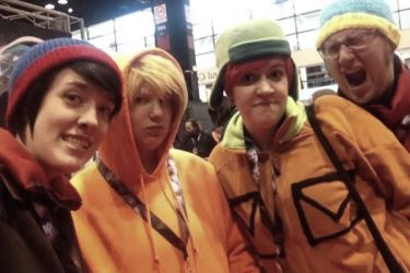 C2E2 2014 - South Park by StellarSophie