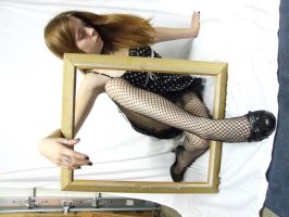 GP007 - Fishnets and Frame by guilty-pleasure