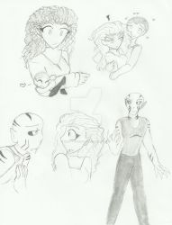 BB:FD - Vince and Colleen sketchpage by Yoru-the-Rogue
