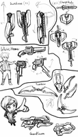 Transforming Weapon Study by Flashkirby-99