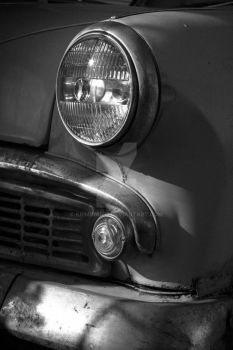 Old School Ride Moskvich by Kriminal33