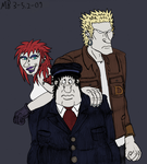 Vincent and the Anarch leaders by Mara999