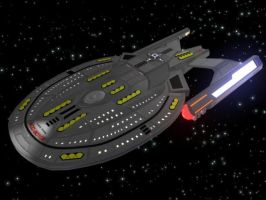 USS Titan DorsalFront by thequestionmark