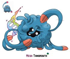 Mega Tangrowth by LeafyHeart