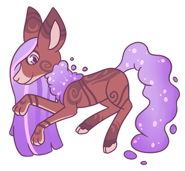 Scented lavender cloudaroo OPEN by CatbunAdopts