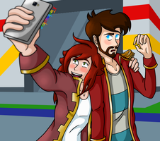 Selfie Time! by KTechnicolour