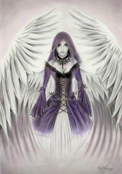 Mystic Angel by Rajacenna