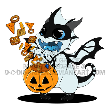 Trick or Treat with Clyde by O-C-Disorder