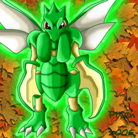 Scyther by PipeDreamNo20