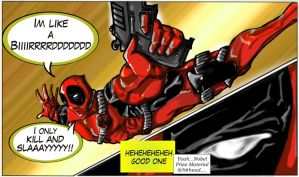 Deadpool by greenmousa