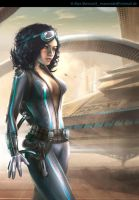 bounty hunter by MaxMade