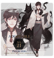 Closed | Adoptable No.21 : INFERI FERA by ESSER18