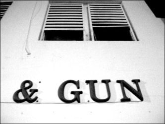 and gun. by withmycamera