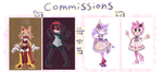Sonic Commissions Open! by saltwaterTOFEE