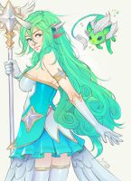 Star Guardian Soraka by simoneferriero