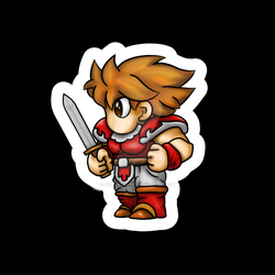 Final Fantasy - Fighter Warrior by sketchygerry