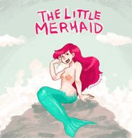 Ariel, The Little Mermaid by saxagenia