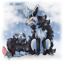 Mightyena And Poochyena