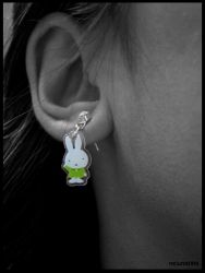 Miffy ear-ring by Miffy-fans