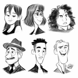 Sketches by LuigiL