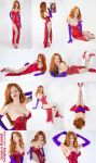 Jessica Rabbit Cosplay Pick a Pose by KayPikeFashion