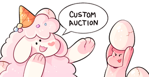 (SC) Custom Auctions, CLOSED. by loppyrae