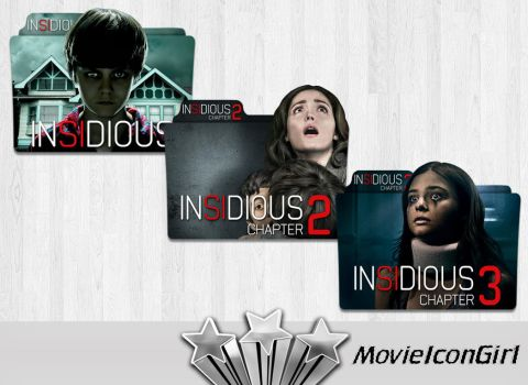 Insidious Collection Folder Icon Pack by MovieIconGirl