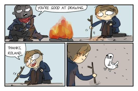 dark tower, 46 by Ayej