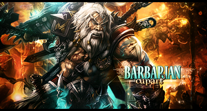 Barbarian by MARKCAPE