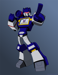 Soundwave by KrisSmithDW