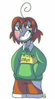 chara pls that's not funny by DesDraws