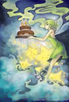 The Green Cake Fairy by Cisiko