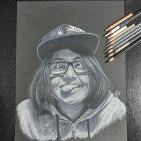 funny face portrait by mgclz