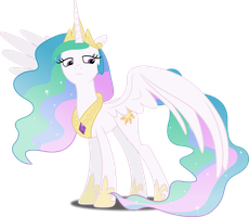 Vector #200 - Princess Celestia by DashieSparkle