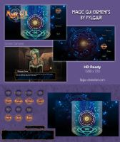 Magic GUI Image Pack for Ren'Py by Cospigeon