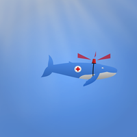 I'm Sending The Rescue Whale by tholec
