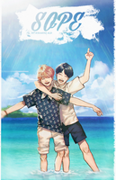 BTS SOPE + SPEED PAINT by Iku-Aldena