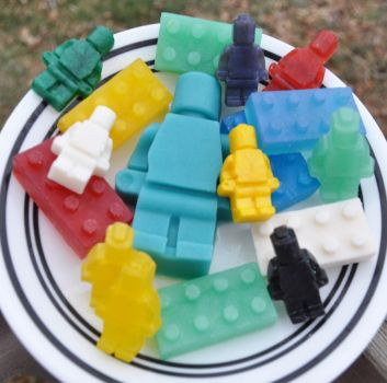 Lego soaps by Dread-Lady-Nathicana